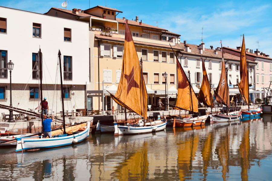 Cosa Fare A Cesenatico   Visitare Porto Canale