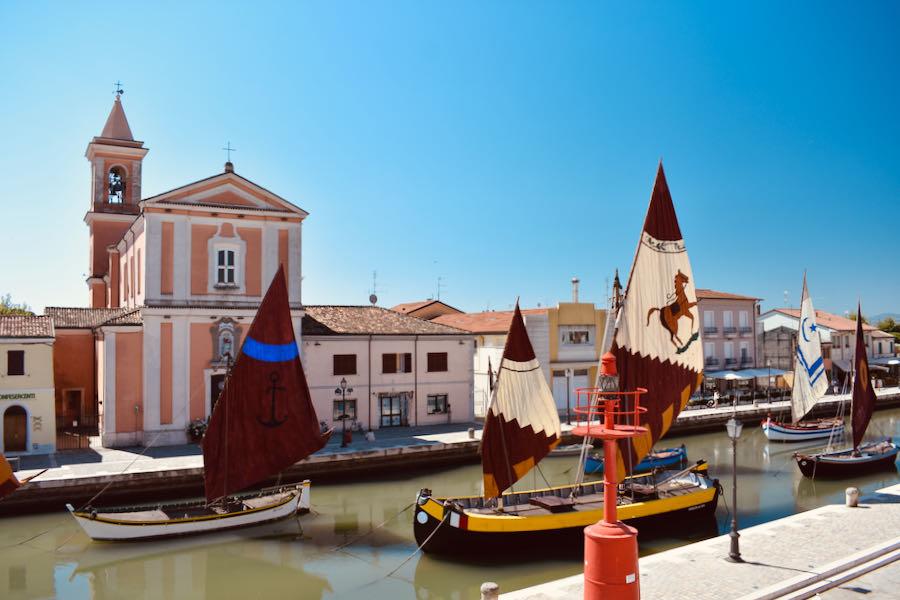 Cosa Vedere A Cesenatico   Porto Canale Chiesa